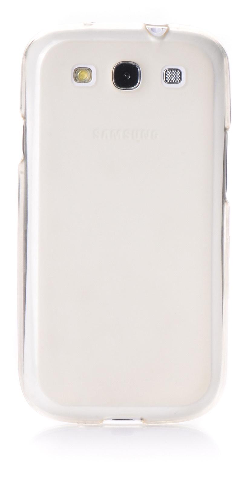 Чехол для сотового телефона iNeez накладка силикон для Samsung Galaxy S3, прозрачный