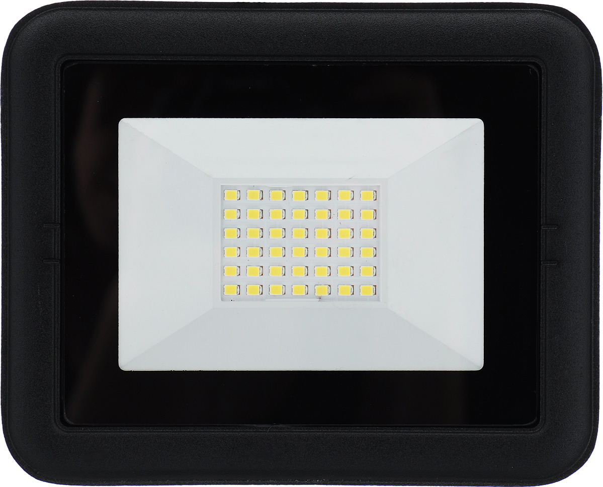 Прожектор SmartBuy FL SMD Light, светодиодный, SBL-FLLight-50-65K, черный цена и фото