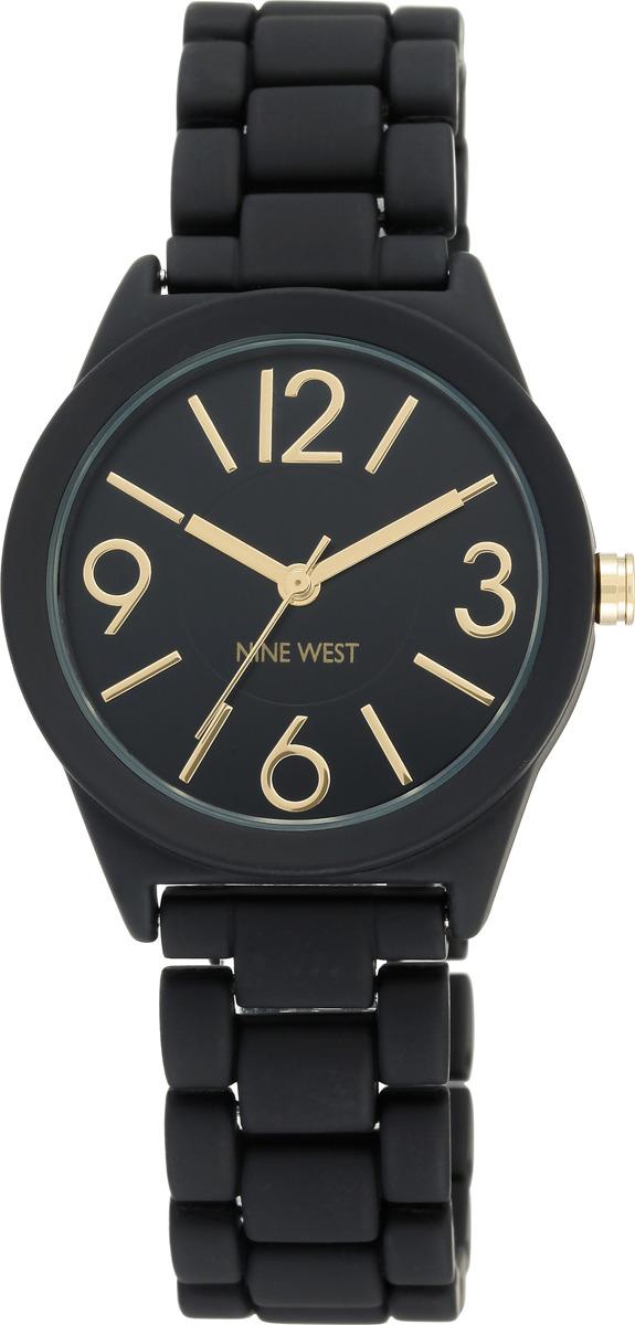 Наручные часы Nine West женские, черный сумка nine west scale up 2015