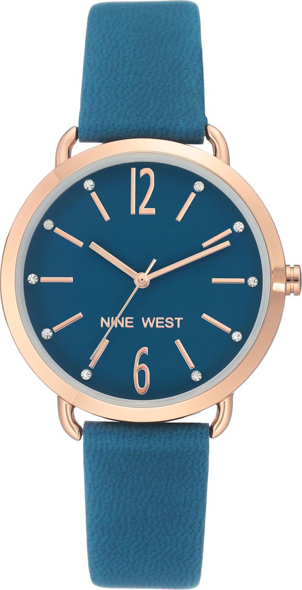 Наручные часы Nine West женские, синий сумка nine west scale up 2015