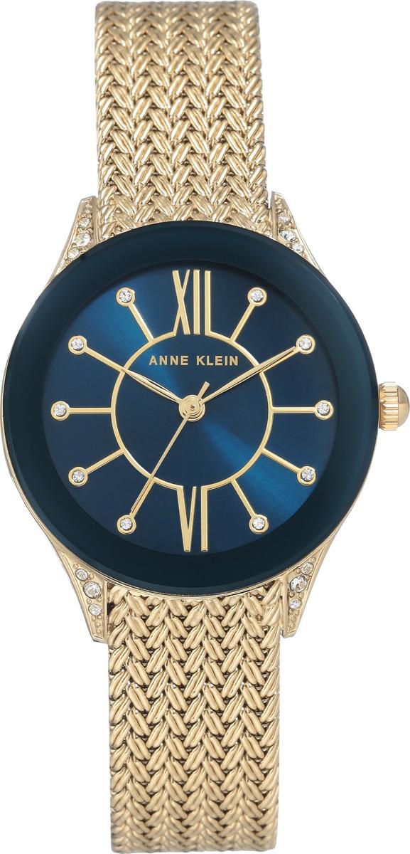 Наручные часы Anne Klein женские, синий, золотой все цены