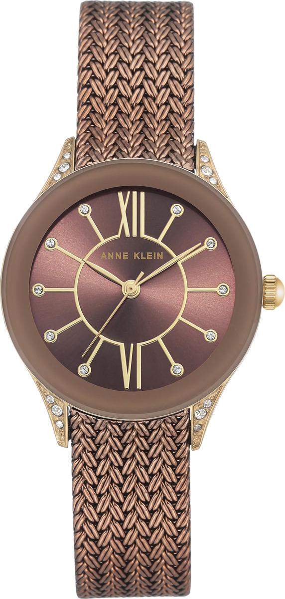 Наручные часы Anne Klein женские, бронза купить часы бронза