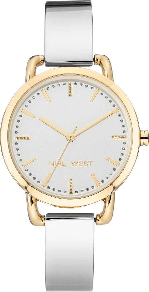 Наручные часы Nine West женские, серебристый сумка nine west scale up 2015