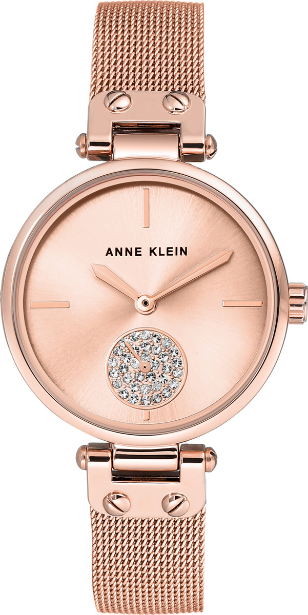 Наручные часы Anne Klein женские, золотой ziiiro наручные часы ziiiro eclipse metalic rose gold