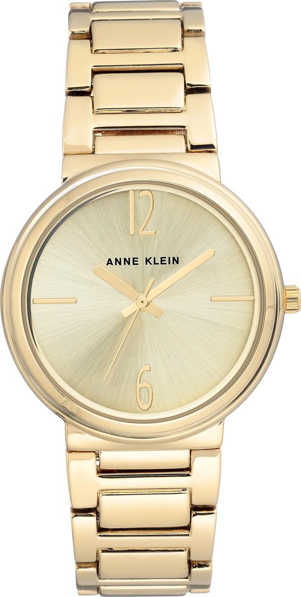 Часы Anne Klein женские, золотой часы nixon time teller deluxe leather navy sunray brow