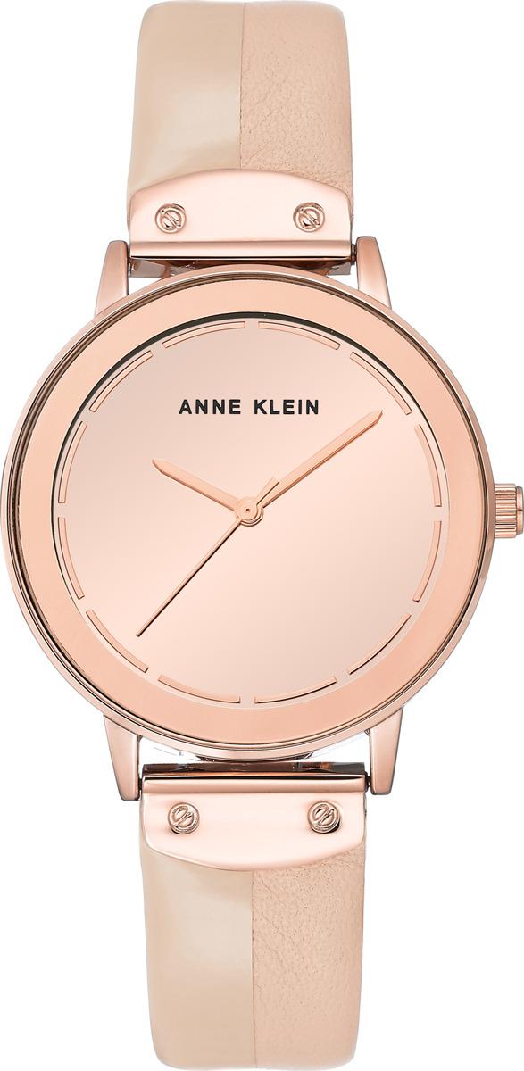 Часы Anne Klein женские, розовый часы из розового золота 87888
