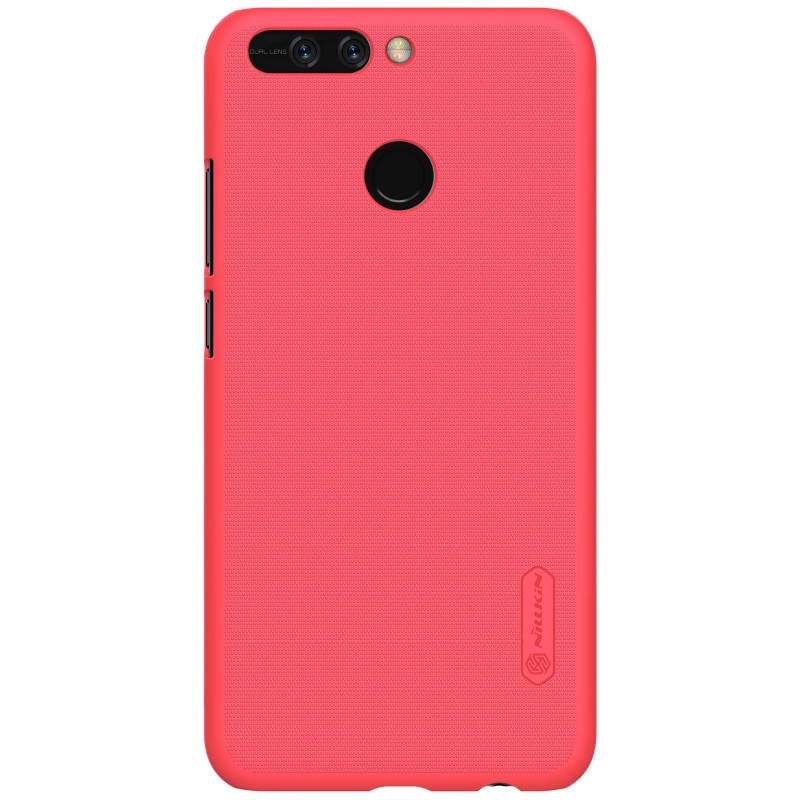 Чехол для сотового телефона Nillkin Накладка Super Frosted Shield Huawei Y6 Pro (2019) Red, красный