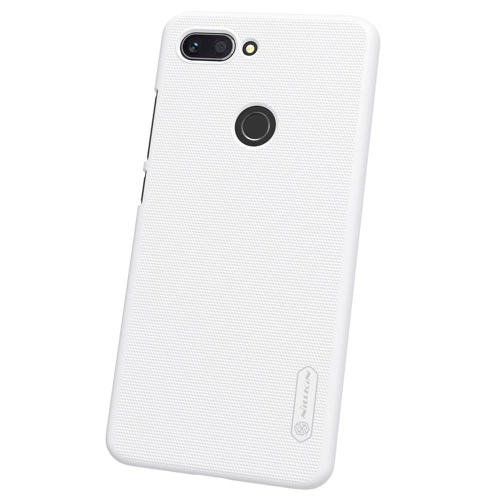 Чехол для сотового телефона Nillkin Накладка Frosted Xiaomi Mi Max 3 White, белый силиконовая накладка nillkin для xiaomi mi a2 white