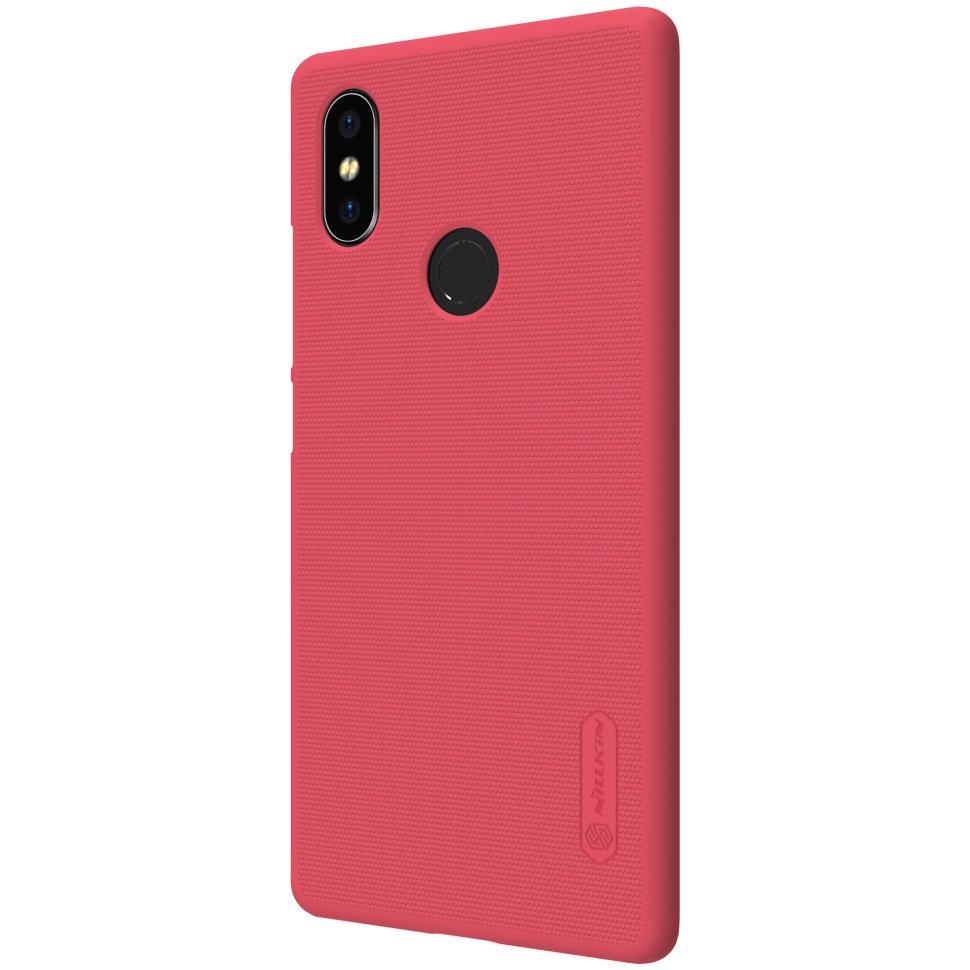 Чехол для сотового телефона Nillkin Накладка Frosted Xiaomi Redmi 6 Red, красный красный дизайн кожа pu откидная крышка бумажника карты держатель чехол для xiaomi redmi 2 2a