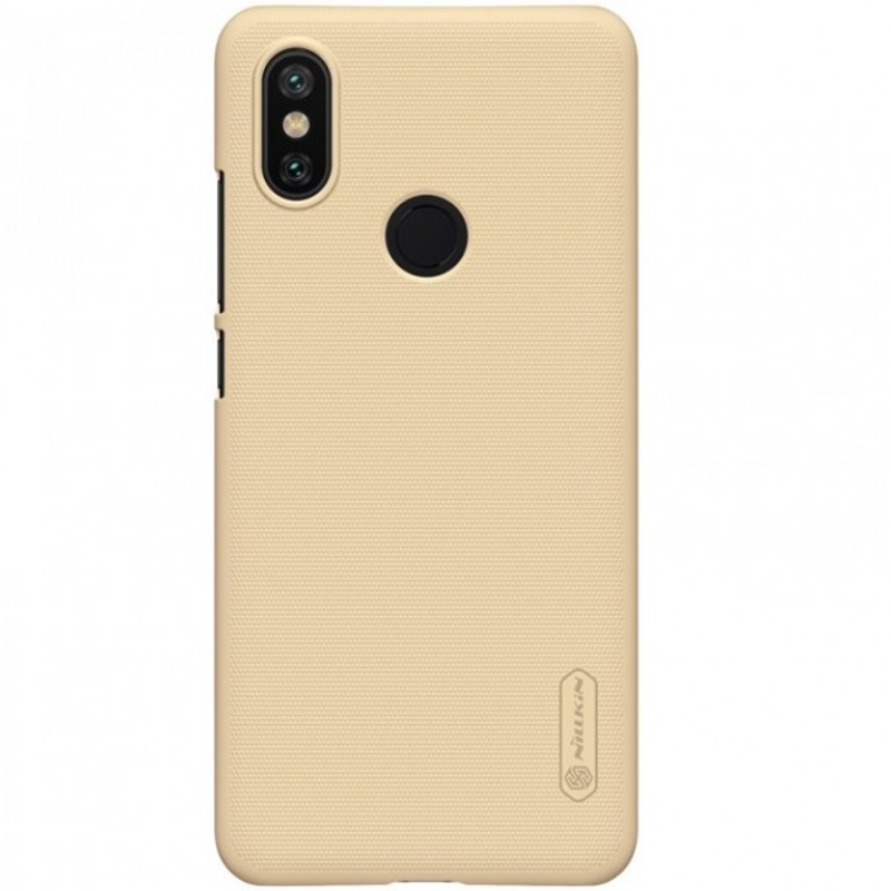 Чехол для сотового телефона Nillkin Накладка Super Frosted Shield Xiaomi Redmi Note 7/Note 7 Pro Golden, золотой чехол для сотового телефона mofi накладка fabric xiaomi redmi note 5 note 5 pro gray серый