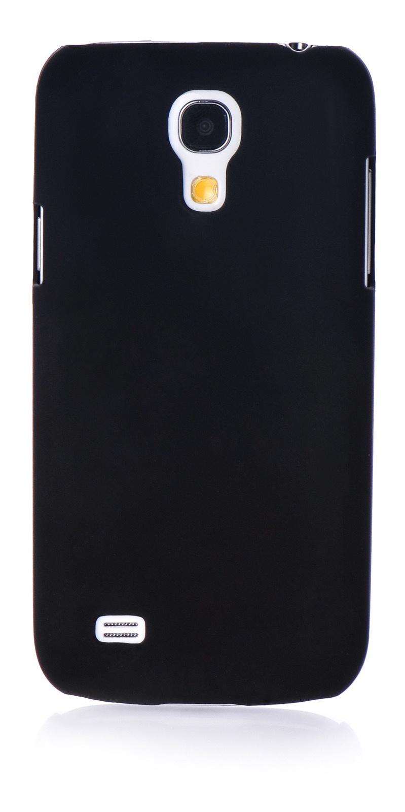Чехол для сотового телефона iNeez накладка пластик soft touch black для Samsung Galaxy S4 mini, черный