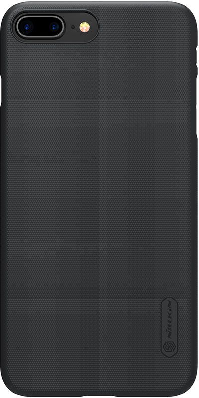 лучшая цена Чехол для сотового телефона Nillkin Накладка Super Frosted Shield (Without Logo Cutout) iPhone XR Black, черный
