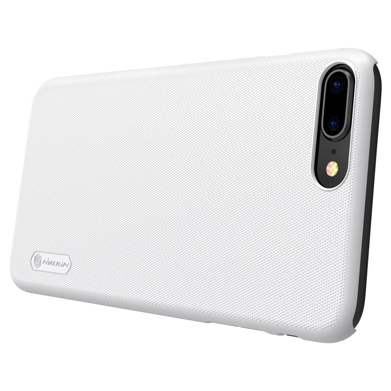 Чехол для Apple iPhone XR Накладка Super Frosted Shield (Without Logo Cutout) iPhone XR White nillkin super frosted shield накладка для apple iphone x black