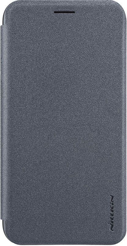 Чехол для сотового телефона Nillkin Книжка Sparkle Leather Case Xiaomi Redmi 7 Black, черный цена и фото