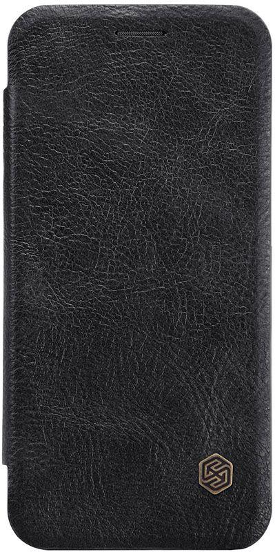 Чехол для сотового телефона Nillkin Книжка Qin Leather Case Huawei P30 Lite Black, черный цена и фото