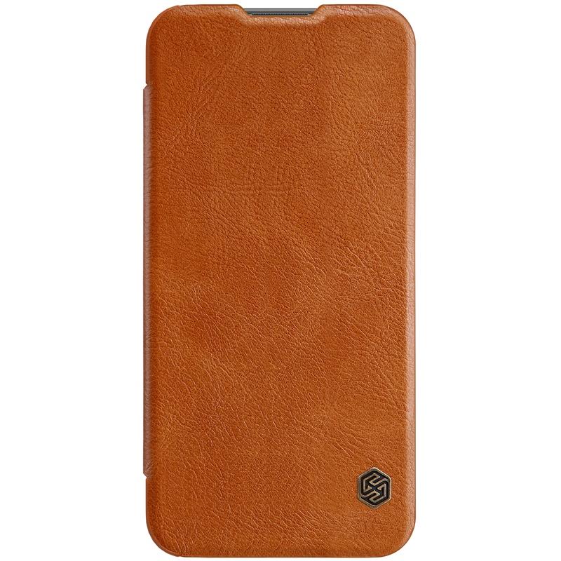 Чехол для Huawei P30 Lite Книжка Qin Leather Case Huawei P30 Lite Brown цена