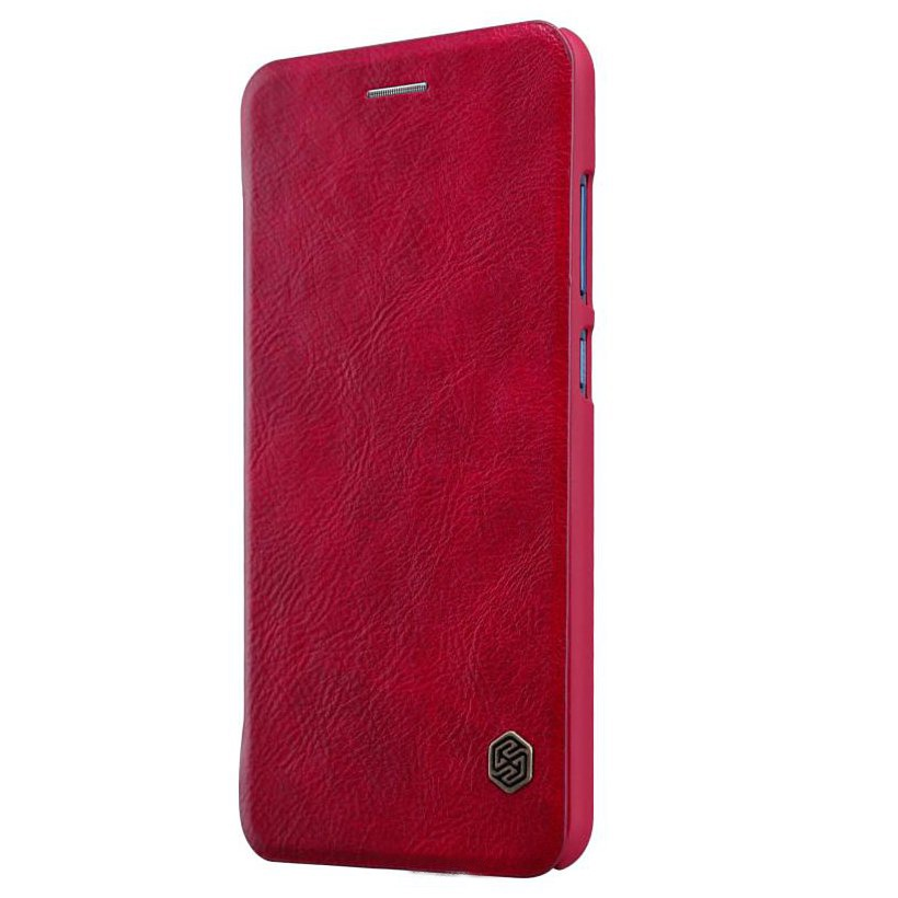 Чехол для Huawei P smart 2019 Книжка Qin Leather Case Huawei P Smart (2019) Red аксессуар чехол для huawei p smart neypo brilliant silicone red crystals nbrl4676
