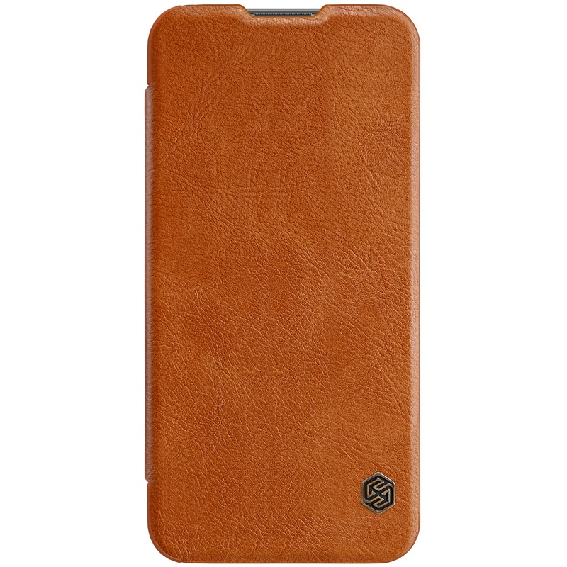 Чехол для Huawei P smart 2019 Книжка Qin Leather Case Huawei P Smart (2019) Brown аксессуар чехол для huawei p smart neypo brilliant silicone red crystals nbrl4676
