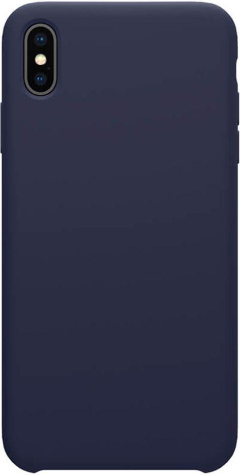 Чехол для сотового телефона Nillkin Накладка Flex Pure Case Apple iPhone X/XS Blue, синий for iphone 6plus new original loud speaker buzzer ringer module bar sound phone flex cable replacement parts free shippin
