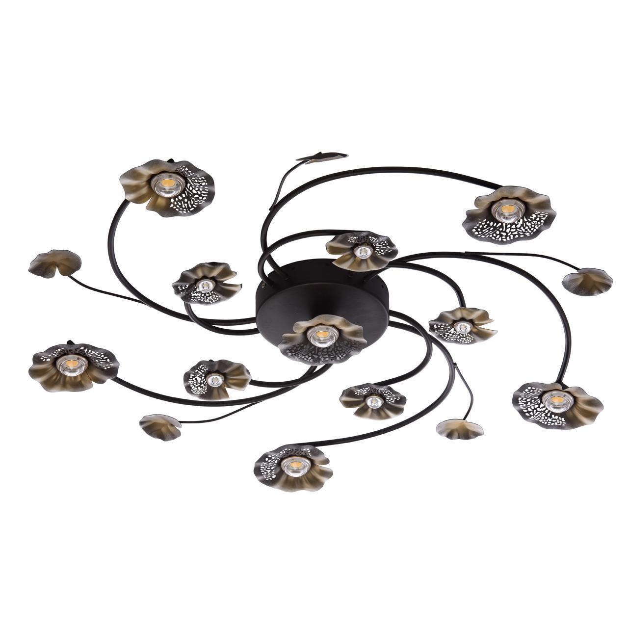 Потолочный светильник MW-Light 280011611, коричневый цена