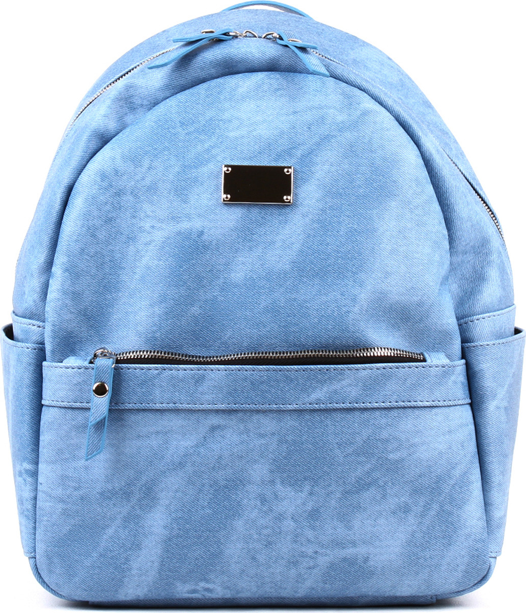 Рюкзак женский Медведково, 19с0982-к14, голубой рюкзак женский медведково цвет бежевый 16с3880 к14