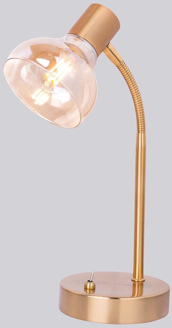 Настольный светильник Rivoli Аlba, E14, 40 Вт, 7006-501, золотой цена