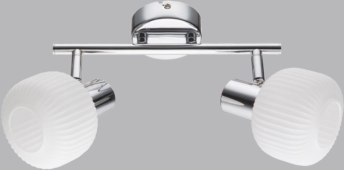 Спот Rivoli Pulito, 2 х E14, 40 Вт, 7009-702, серебристый все цены