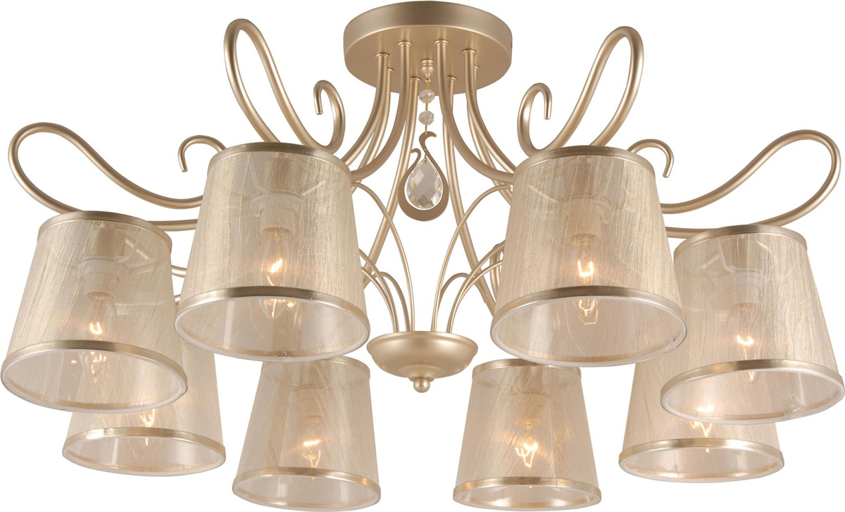 Потолочный светильник Rivoli Orebella, E14, 40 Вт бра rivoli mod e14 40 вт