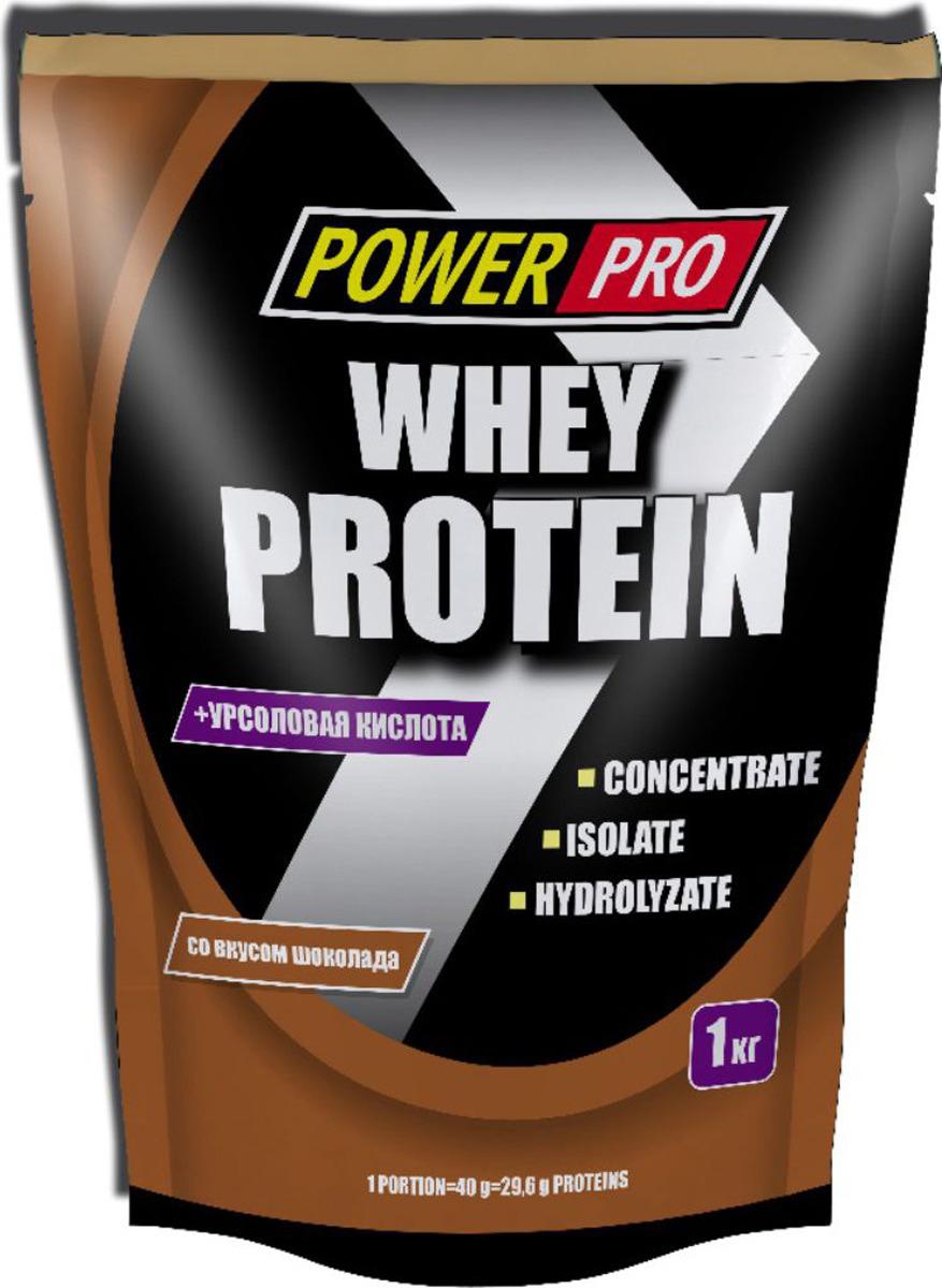 Протеин Power Pro со вкусом шоколада, 1 кг