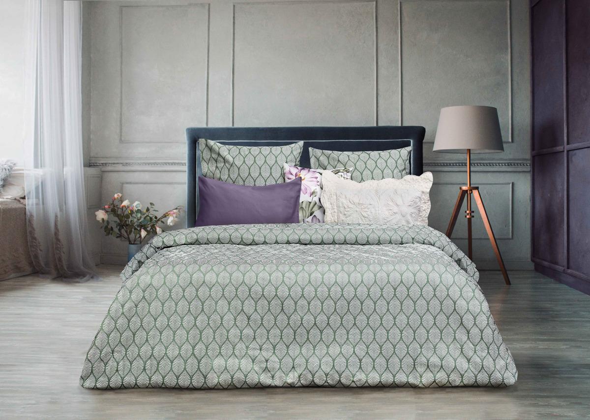 Комплект постельного белья Sova & Javoronok Modern Life Антик, 22030118377, оливковый, 2-спальный, наволочки 70x70 пододеяльник 2 спальный sova