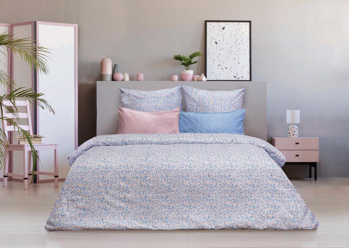 Комплект постельного белья Sova & Javoronok Modern Life Романтика, 22030118380, разноцветный, 2-спальный, наволочки 70x70 комплект постельного белья романтика ирландское кружево