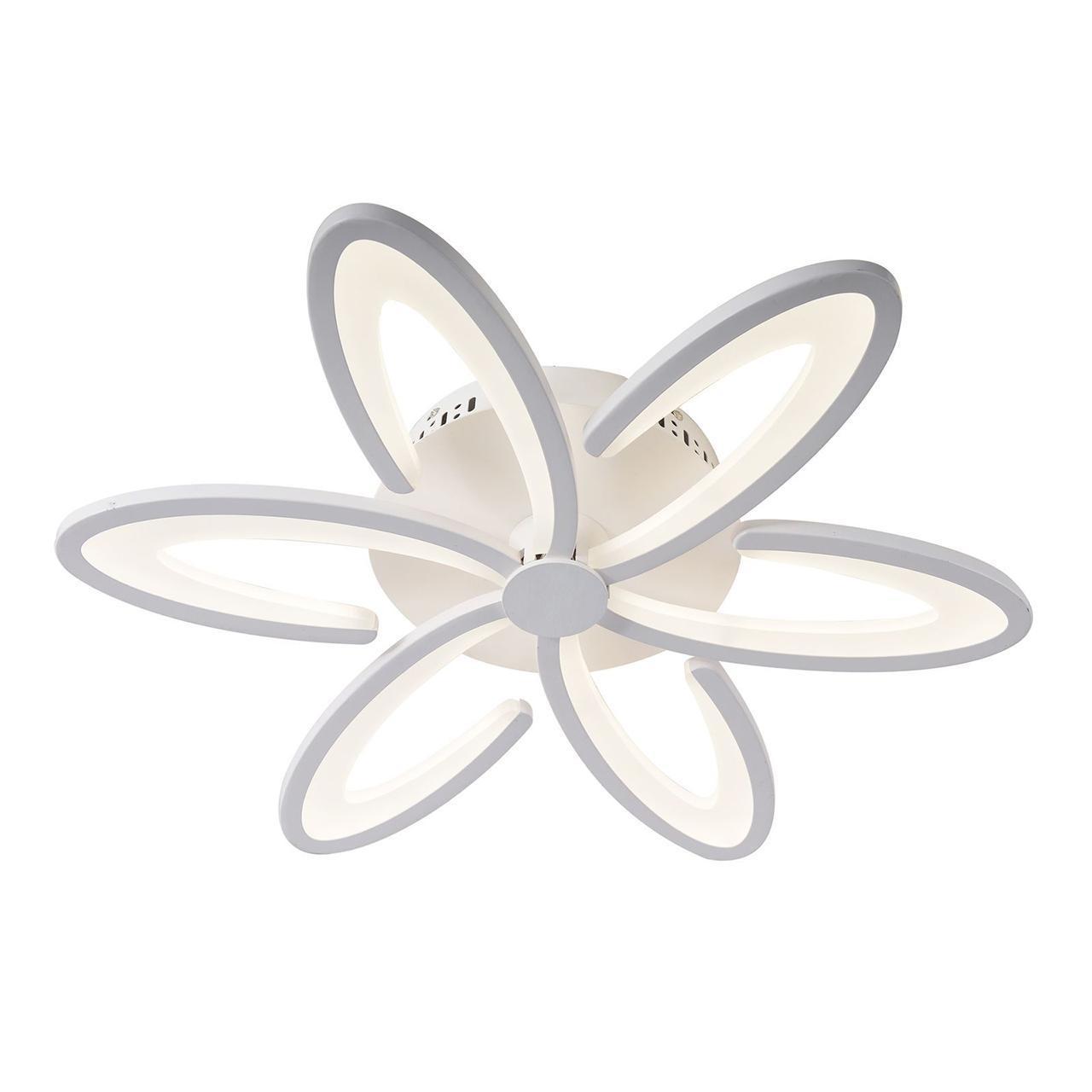 купить Потолочный светильник Omnilux OML-49307-60, белый по цене 16580 рублей