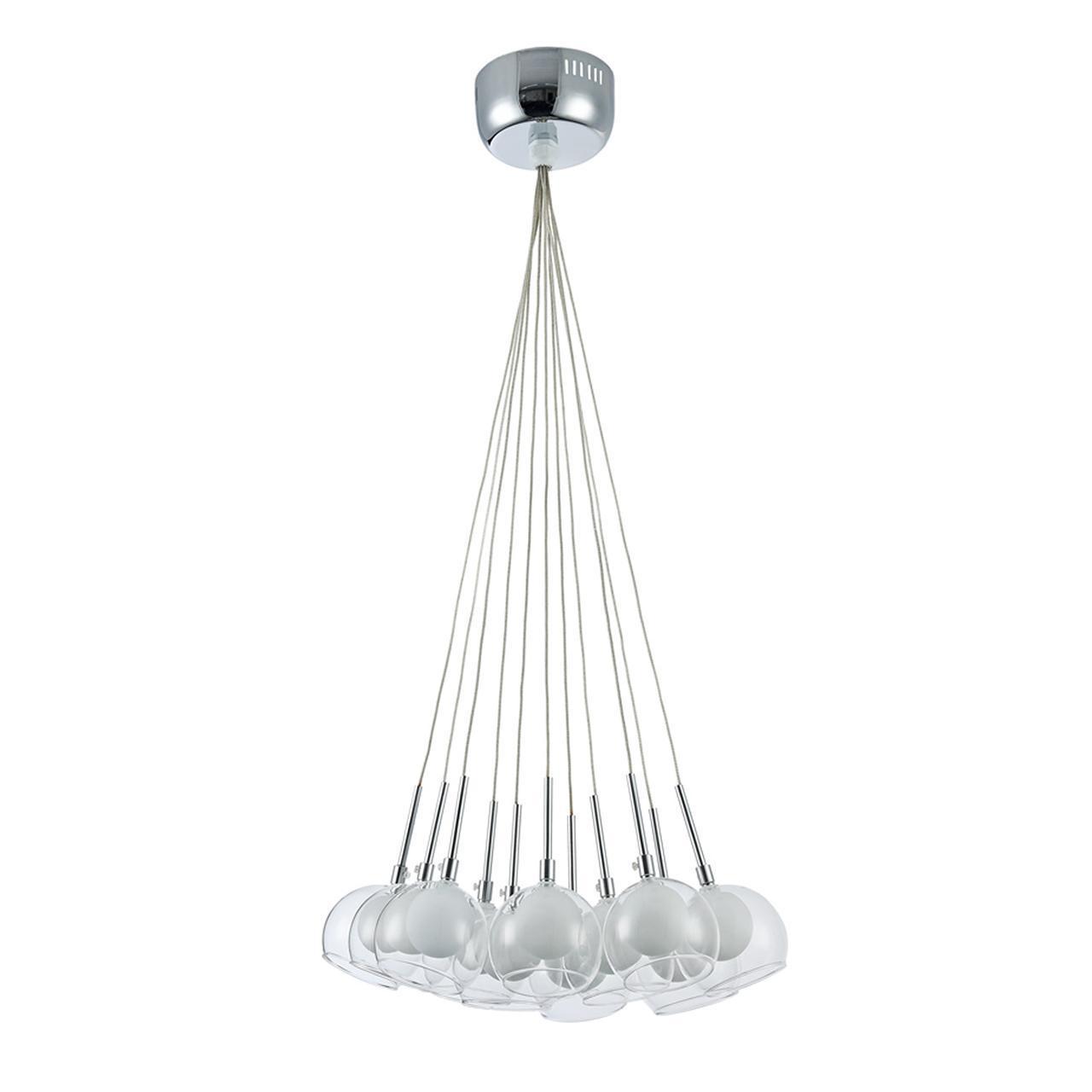 Подвесной светильник Freya FR5175-PL-11-CH, белый люстра freya freya fr5175 pl 07 ch