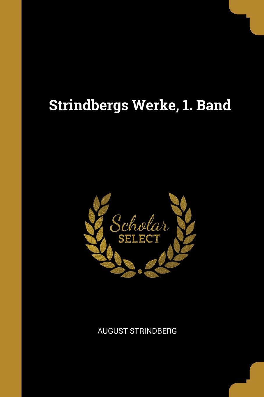 Strindbergs Werke, 1. Band
