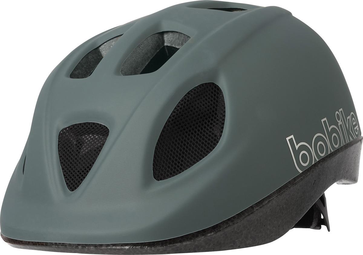 цена на Шлем защитный Bobike Go детский, 8740300040, серый, S (52-56 см)