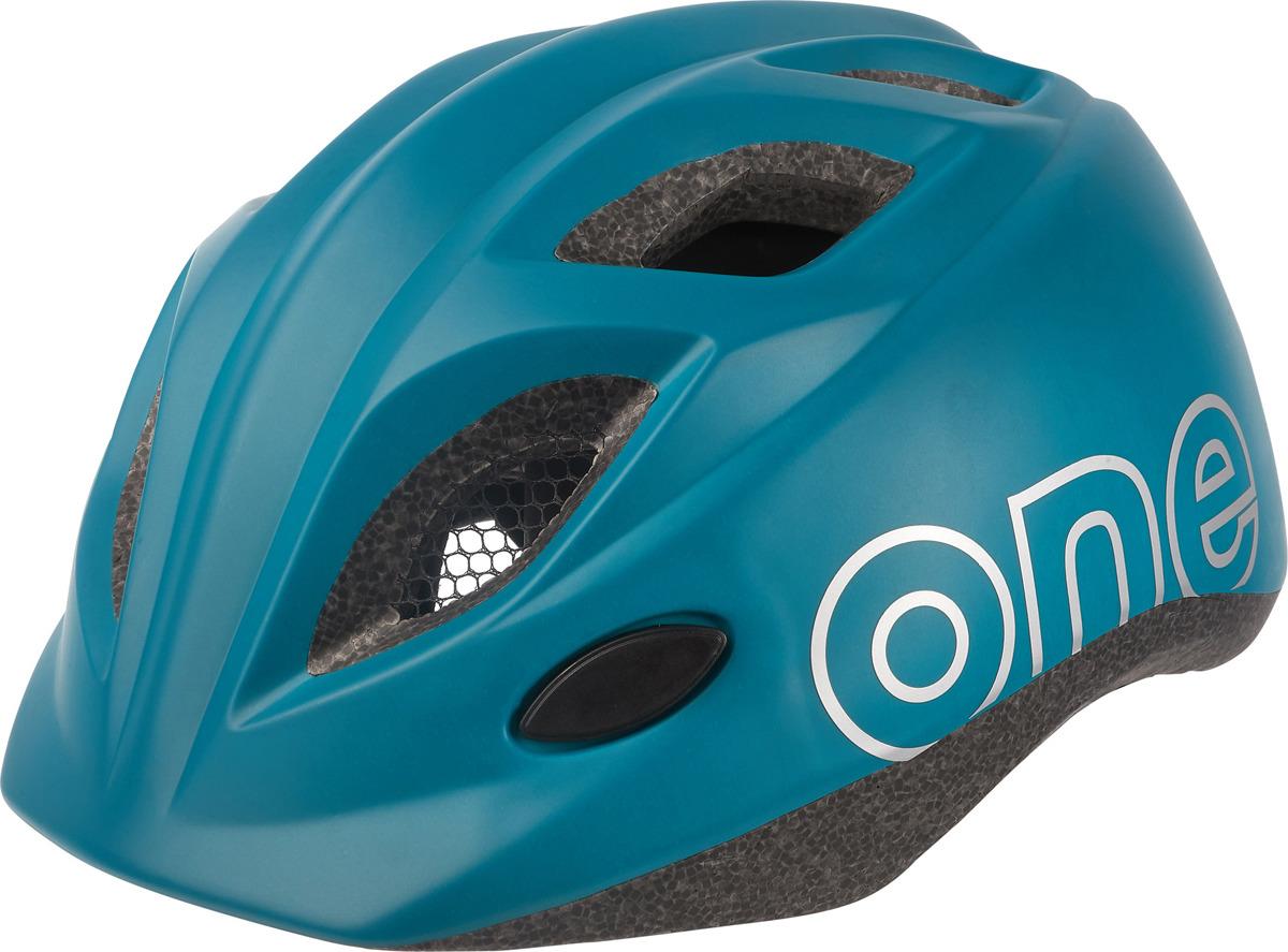 Шлем защитный Bobike One Plus детский, 8740800004, синий, XS (46-53 см) брюки для беременных one plus one цвет темно синий v632335 размер 46