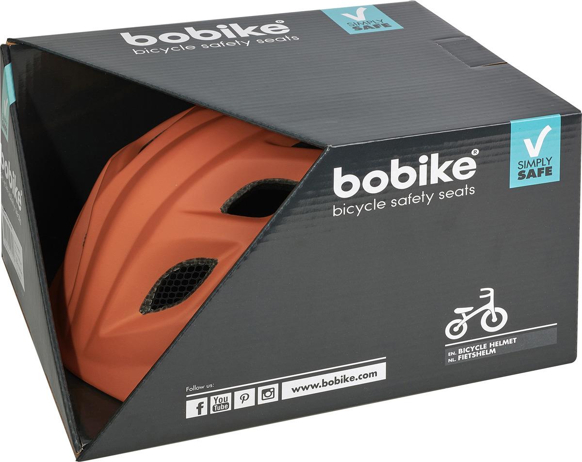 Шлем защитный Bobike One Plus детский, 8740900007, коричневый, S (52-56 см) Bobike