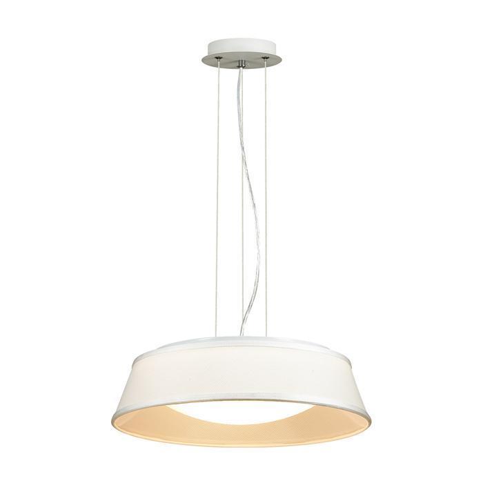 Подвесной светильник Odeon Light 4157/3, белый подвесной светильник odeon light 4107 18cl белый