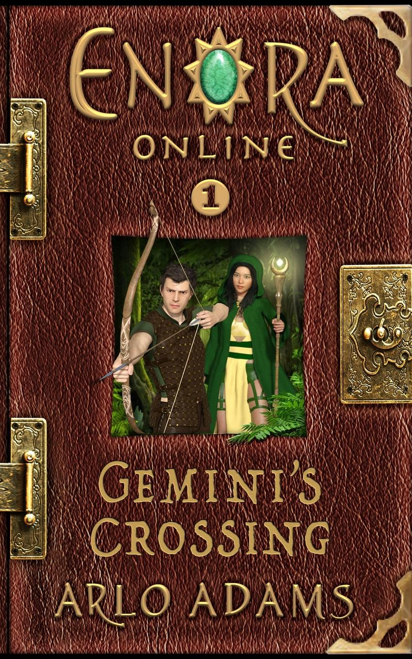 Arlo Adams Gemini.s Crossing. A LitRPG GameLit Fantasy Adventure аудиокниги litrpg