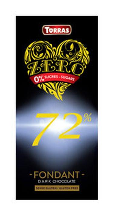 Шоколад Torras Зеро горький 72%, 100 г цена и фото