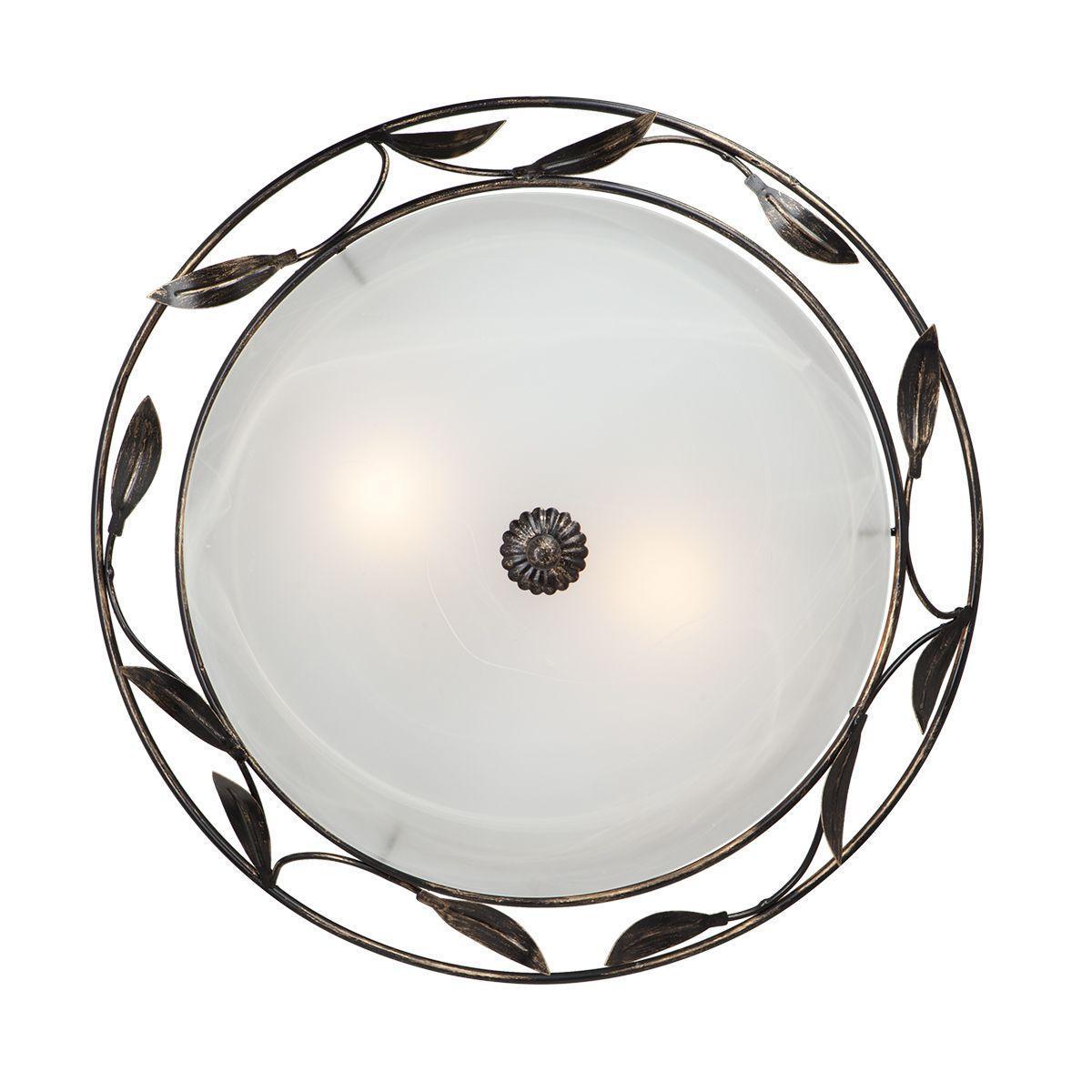 все цены на Настенно-потолочный светильник Vitaluce V6858/2A, белый онлайн