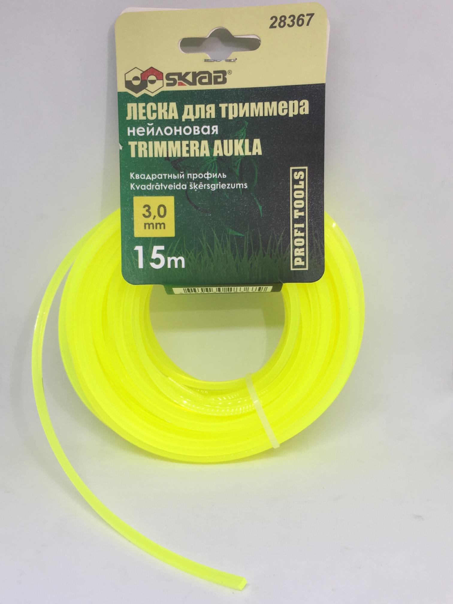 Леска для триммера Libman 28367, желтый