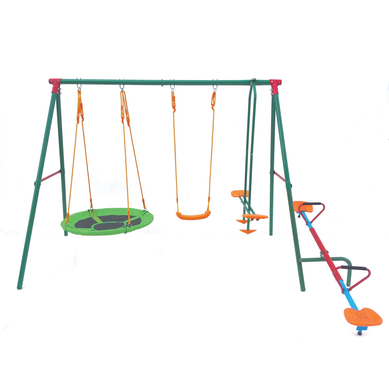 Детские качели DFC MSW-01 зеленый цена
