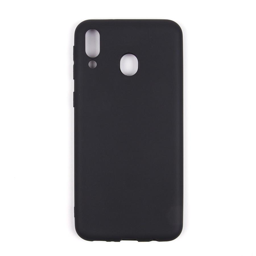 все цены на Чехол для сотового телефона ТПУ для Samsung Galaxy M20, черный онлайн