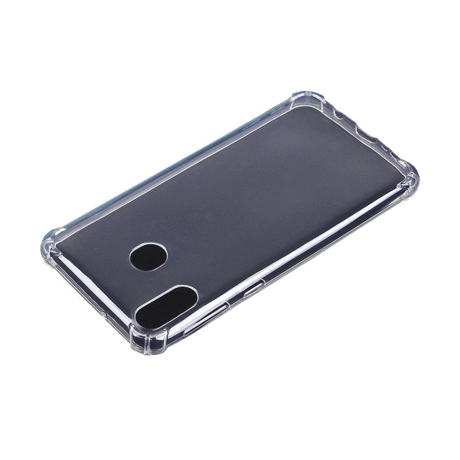 """Чехол для сотового телефона Прозрачный силиконовый чехол для Samsung Galaxy M20 """"Антишок"""", прозрачный"""