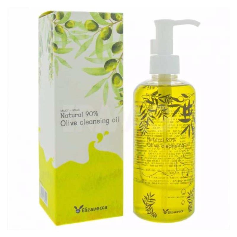 Гидрофильное масло Elizavecca с оливой 90 natural 90 olive cleansing oil Elizavecca