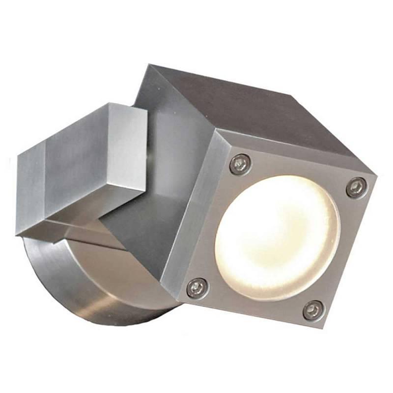 Настенный светильник Lussole LSQ-9511-01, серебристый lussole lsq 9501 01