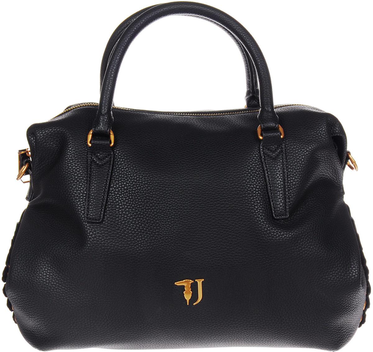 цена Сумка женская Trussardi Jeans, 75B00448-9Y099999_K299, черный