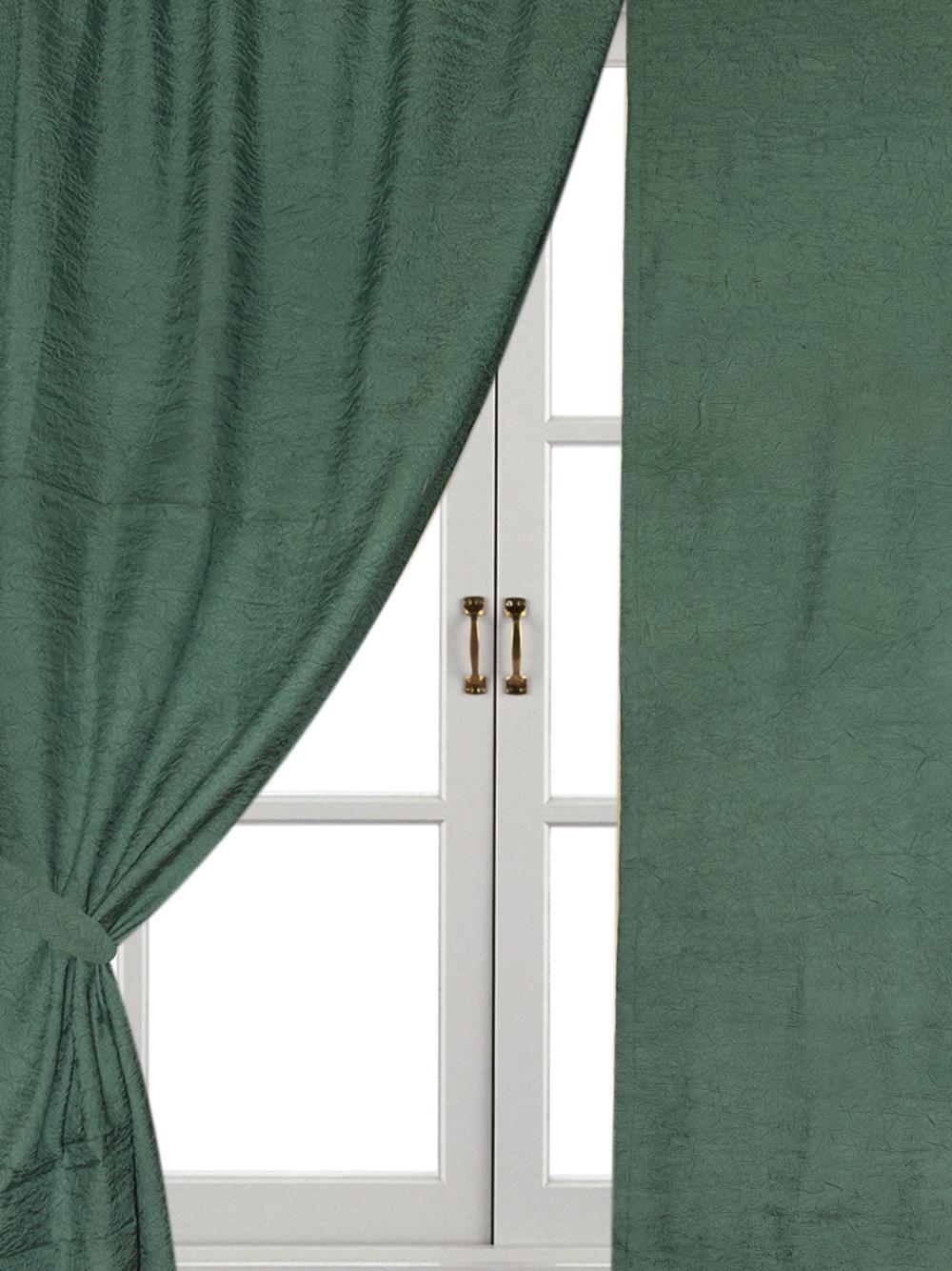 Комплект штор Айлант А1, зеленый стоимость