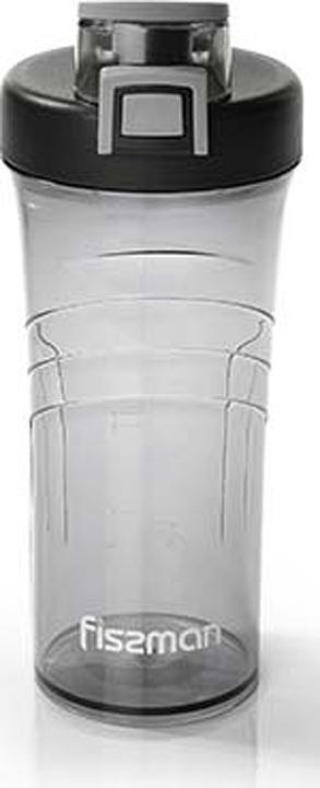 Бутылка для воды Fissman, 6922, серый, 800 мл бутылка для воды contigo цвет серый 650 мл contigo0647